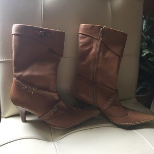 Genuine Leather Boots Size 7